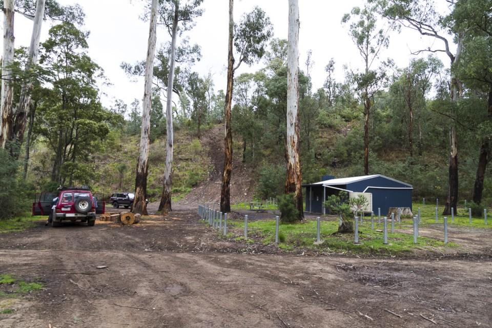 Jorgensens Hut - recent rebuild