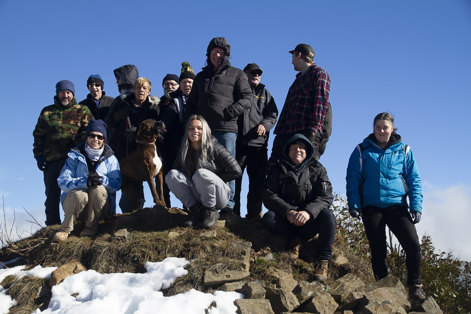 Some of our intrepid team
