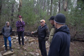Tony tells us about fossicking