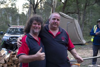 Our mates from Yarra Valley 4WD Club